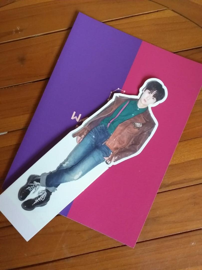 stand minhyun {album w1 nothing without you wanna ver.}