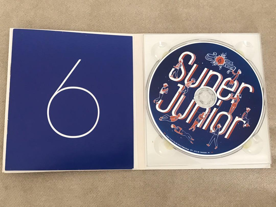 Super Junior Album Set (Breakdown & Sexy, Free & Single)