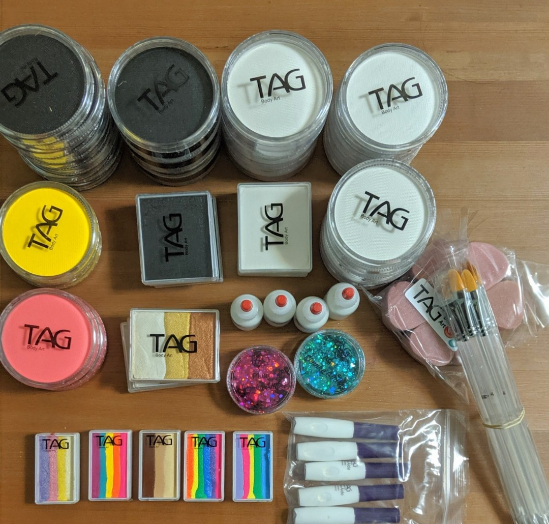 Tag Face Paints New Arrivals Design Craft Others On Carousell