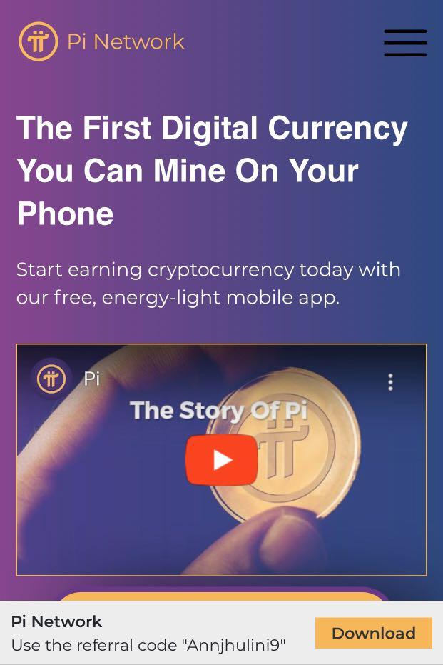 The First Digital Currency You Can Mine On Your Phone.