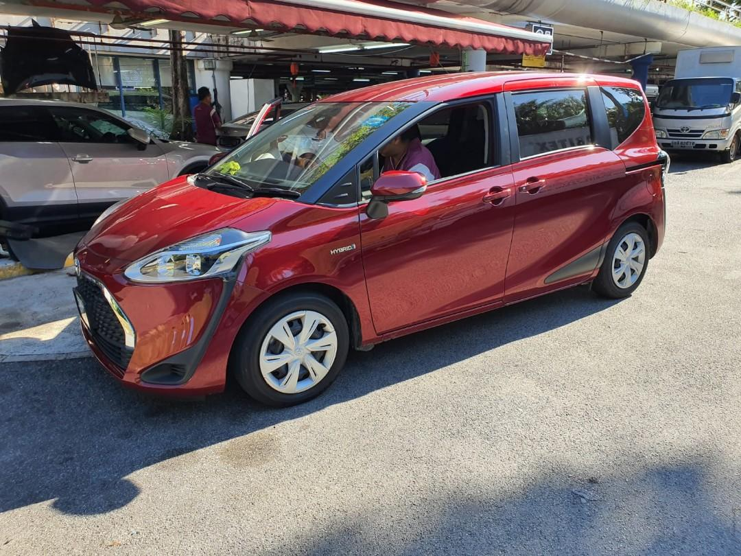 Toyota Sienta 2019 Hybrid Car Available For Rent!!! 🎉🎉🎉