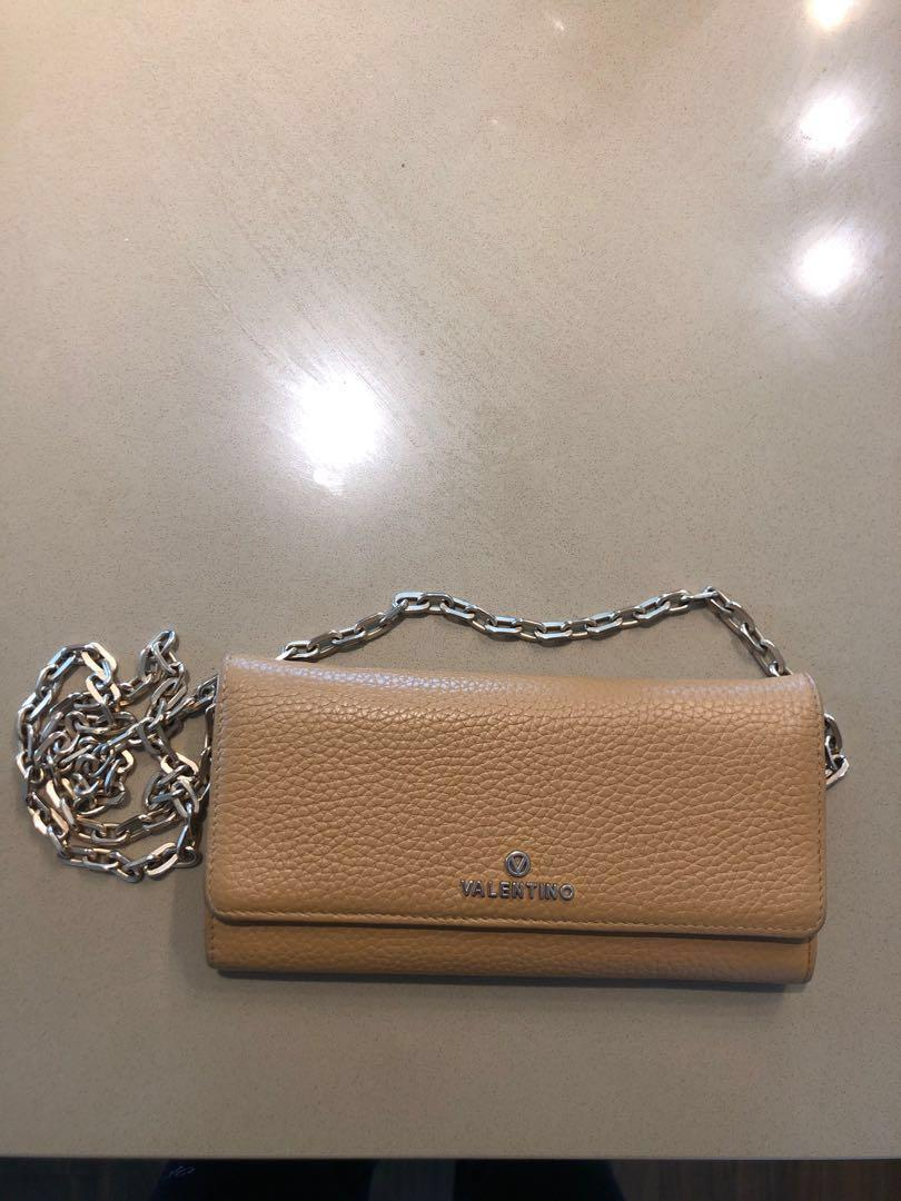 Valentino by Mario Valentino AUTHENTIC wallet on a chain