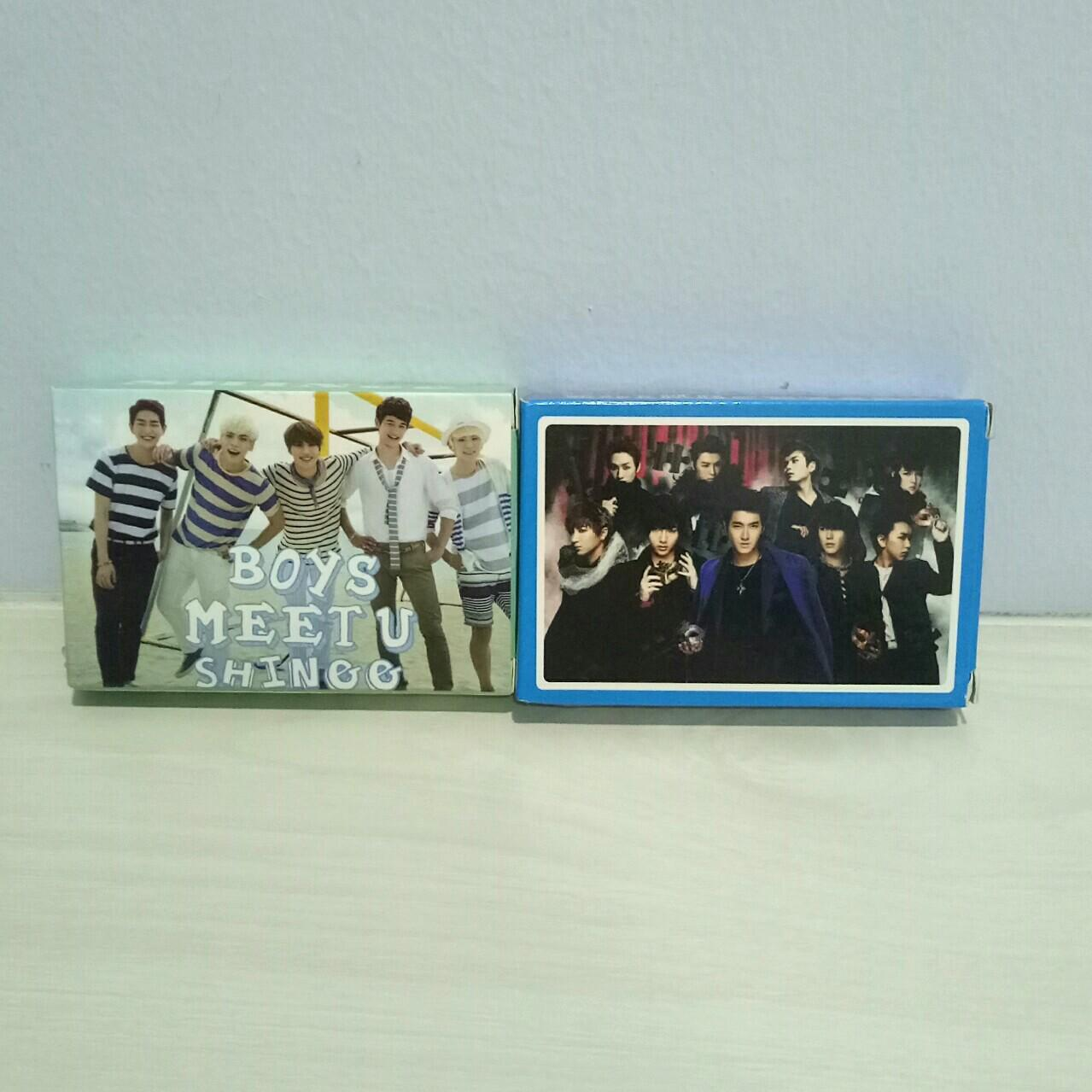 [WTS] KPOP POKER PLAYING CARD (SUPER JUNIOR/SHINee)