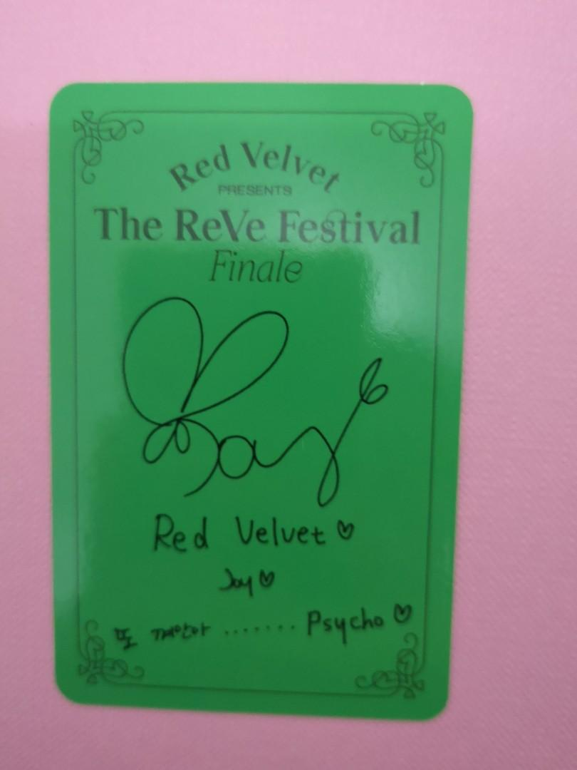 WTT/WTS Joy pc Red Velvet (The Reve Festival Finale)
