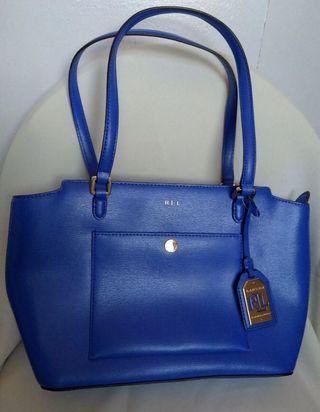 Blue Ralph Lauren Bag