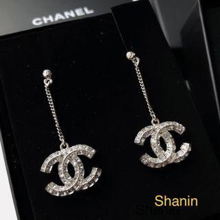 Chanel 墜吊耳環