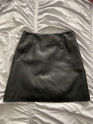H&M leather skirt Size 0