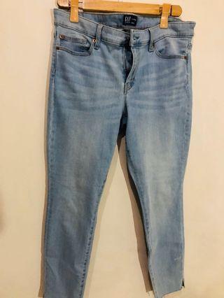 Gap mid rise jeans