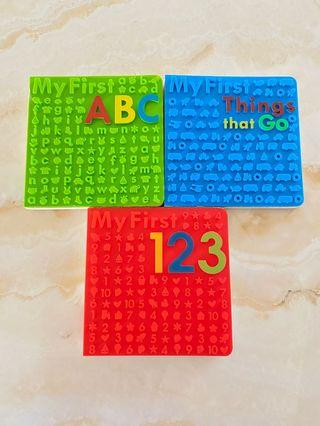 My First 123 / My First ABC / My First Things That Go