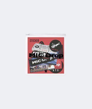 BTS POP-UP MIC Drop 貼紙