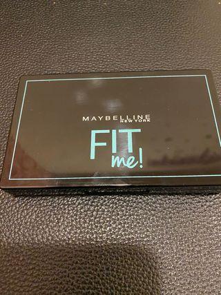 Maybelline fit me反孔特霧嫩粉餅#220
