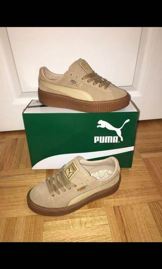 SIZE 5.5W suede puma creepers