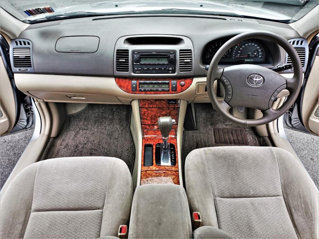 2004 Toyota Camry 2.0 E Sedan CAR KING TIPTOP CONDITION ACTUAL YEAR MAKE 2004 Toyota Camry 2.0 E Sedan CAR KING TIPTOP CONDITION 2004