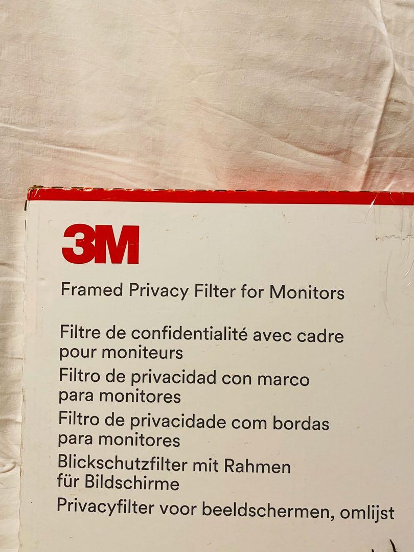 """3M Framed Privacy Filter for 22"""" Widescreen Monitor"""