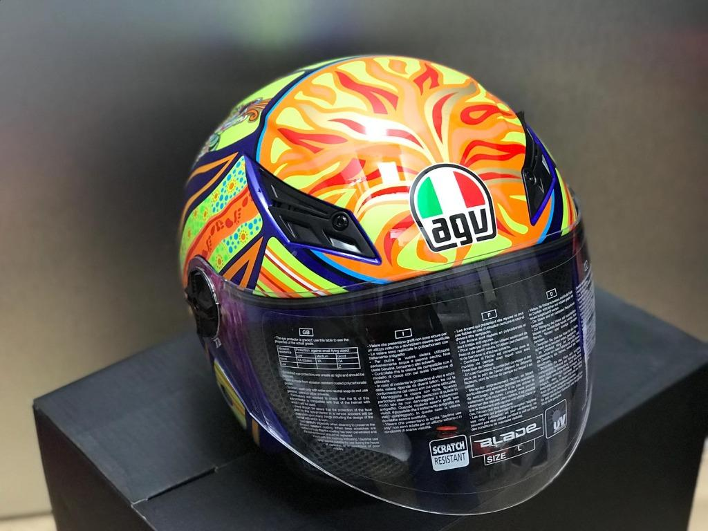 Agv Blade Top Five Continent Helmet Motorcycles Motorcycle Apparel On Carousell