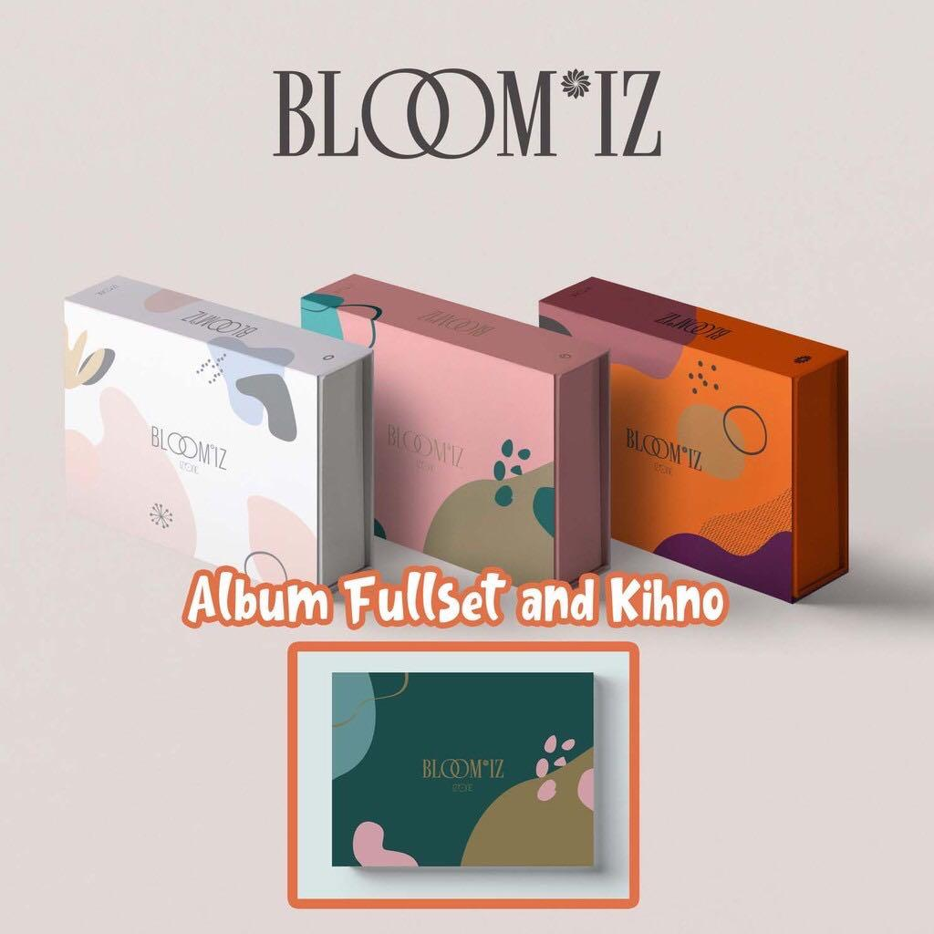 [ALBUM + KIHNO SET] IZ*ONE IZONE 1ST FULL ALBUM - BLOOM*IZ