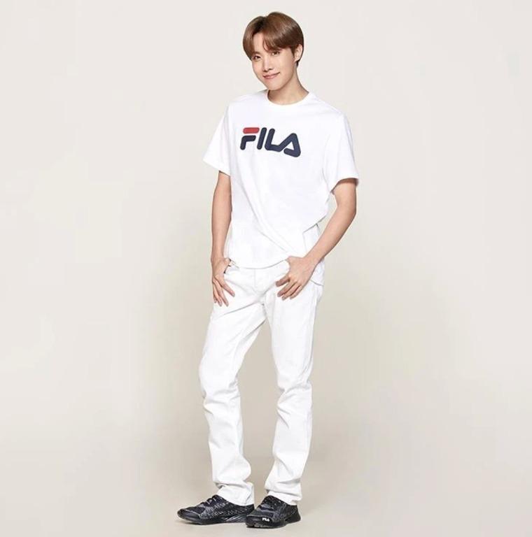 BTS FILA J-hope Shoes FILARGB FLOW FS1RNB3277X_BGY