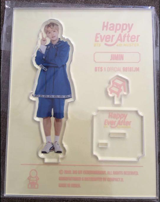 BTS Jungkook /JIMIN Acrylic stand ( Happy Ever After 4th Muster)