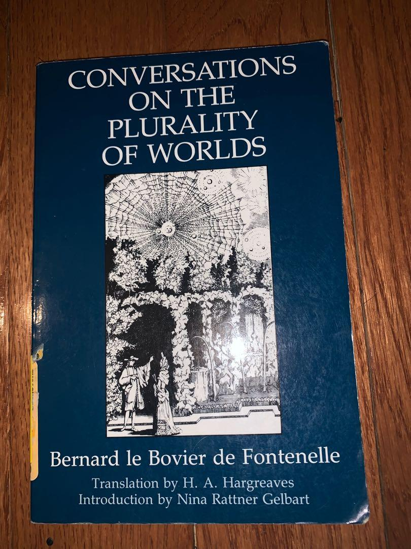 Conversations on the Plurality or Worlds (Fontenelle)