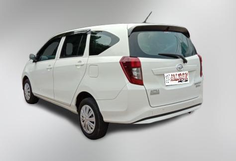 Daihatsu Sigra 1.2 X Manual 2018 Putih, Dp 9,9 Jt, No Pol Genap