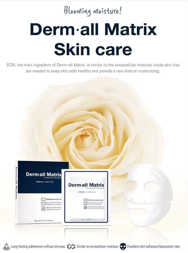 [DERM·ALL MATRIX] DAILY FACIAL DERMAL-CARE 1PACK (4EA)