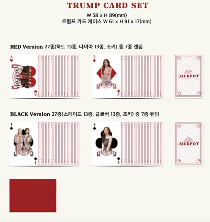 Elris - Jackpot Mini Album Vol.4 (Red / Black Version)
