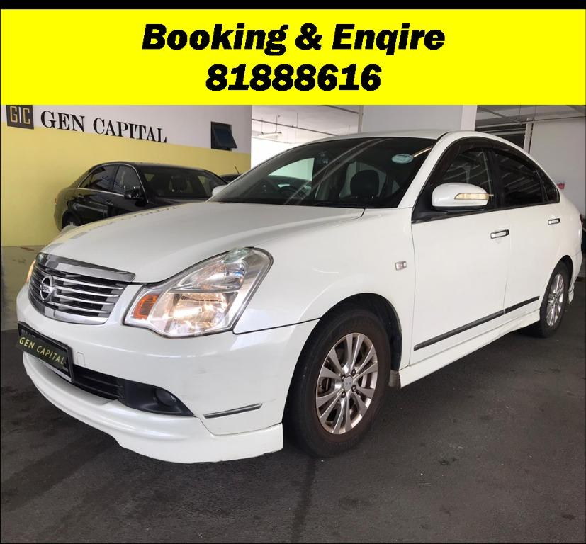 Nissan Sylphy LOWEST RENTAL!!! Most Economical, High Fuel Efficiency & Reliability. PHV/ Personal/ Parcel delivery ready. Just $500 Deposit driveoff immediately. No hidden cost. Whatsapp 81888616 now!