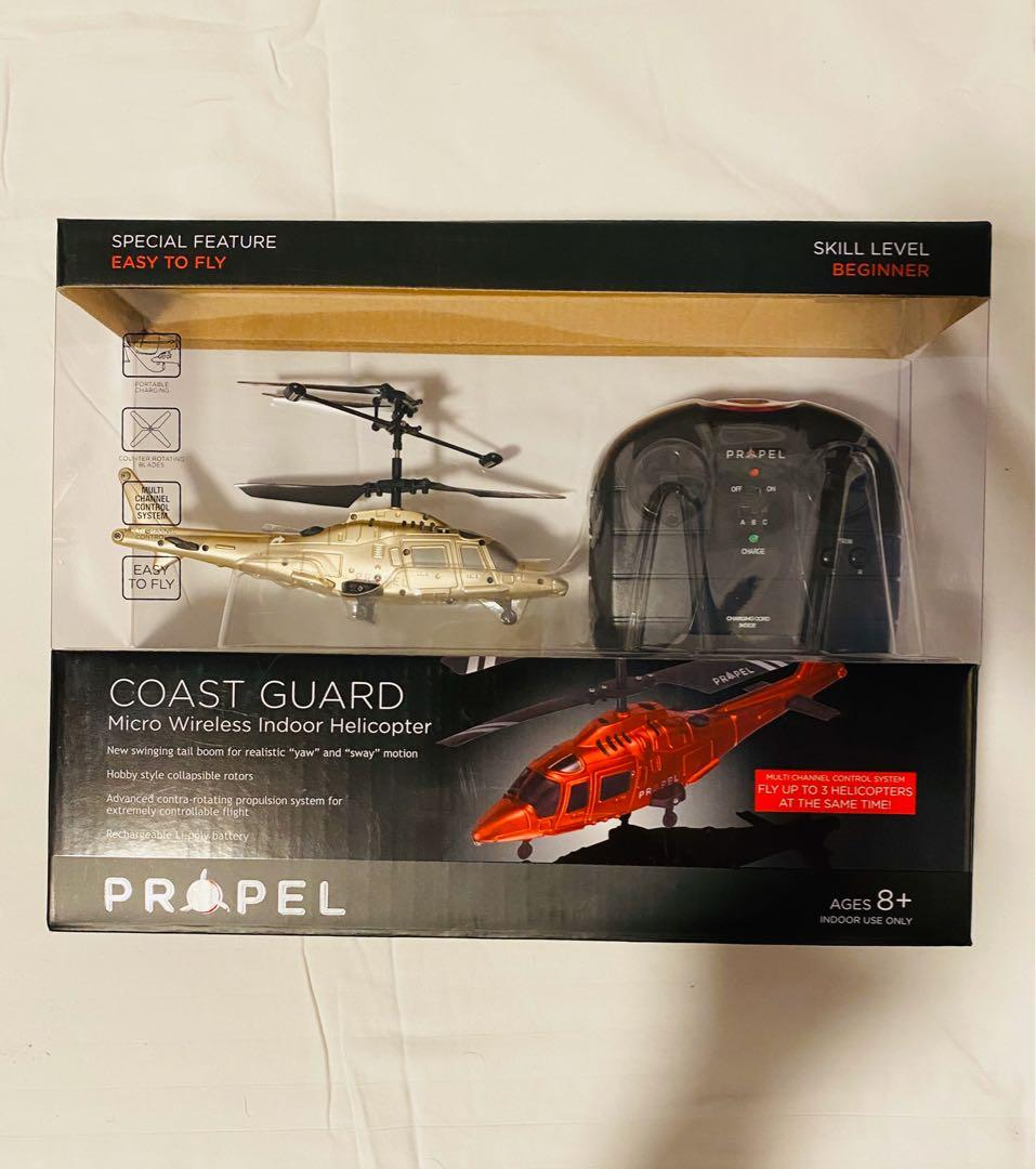Propel RC Coast Guard Wireless Indoor Remote Control Micro Helicopter
