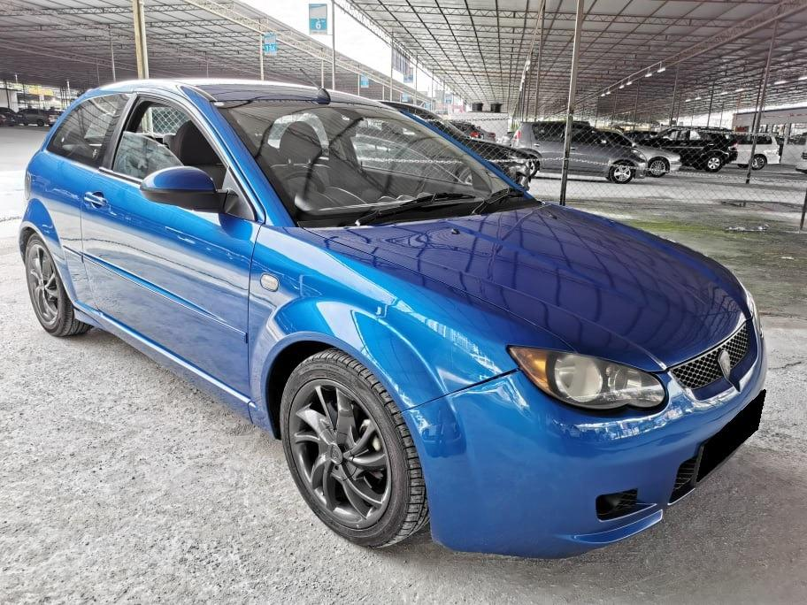 Proton Satria Neo 1.6 (Manual) New Paint Subaru Blue Cash and carry Only 2007