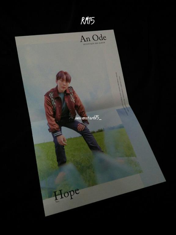 SEVENTEEN 3rd Album 'An Ode' - FIRST PRESS Folding Poster SEUNGKWAN (Hope Ver.)