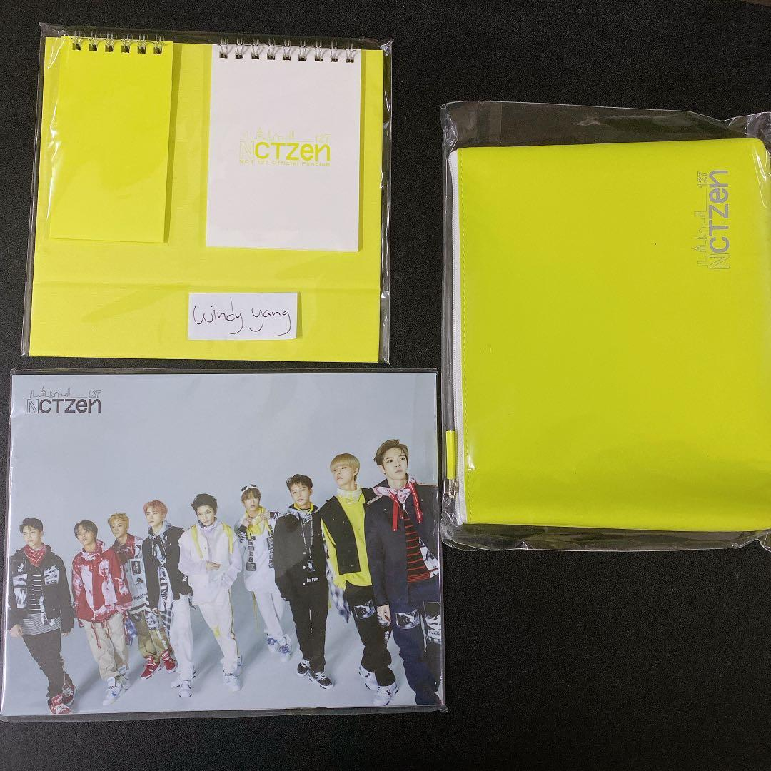 [WTS] NCT 127 ACE  Fanclub Official Message Stand Pouch Postcard Set