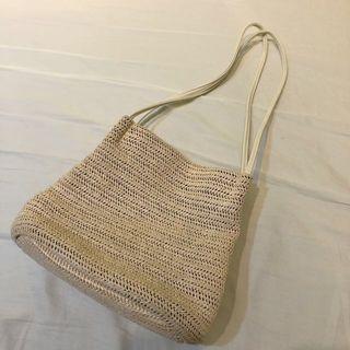 編織包 藤包 肩包 手提包