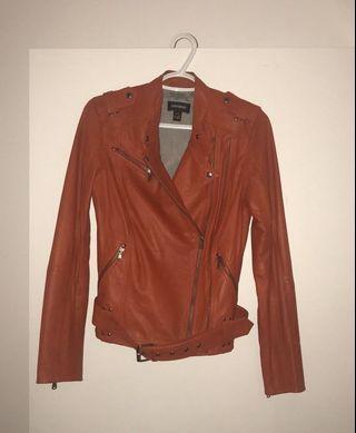 DANIER red leather jacket (size XS)