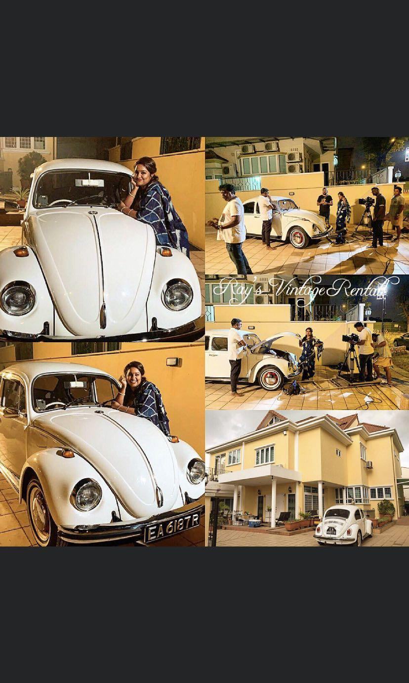 1972 White Classic Volkswagen Beetle For Rental Cars Car Rental On Carousell