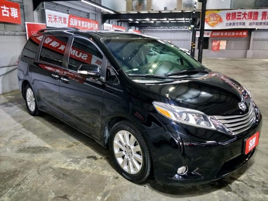 2016 ToyotaSiennaLimited實車實價136.8萬
