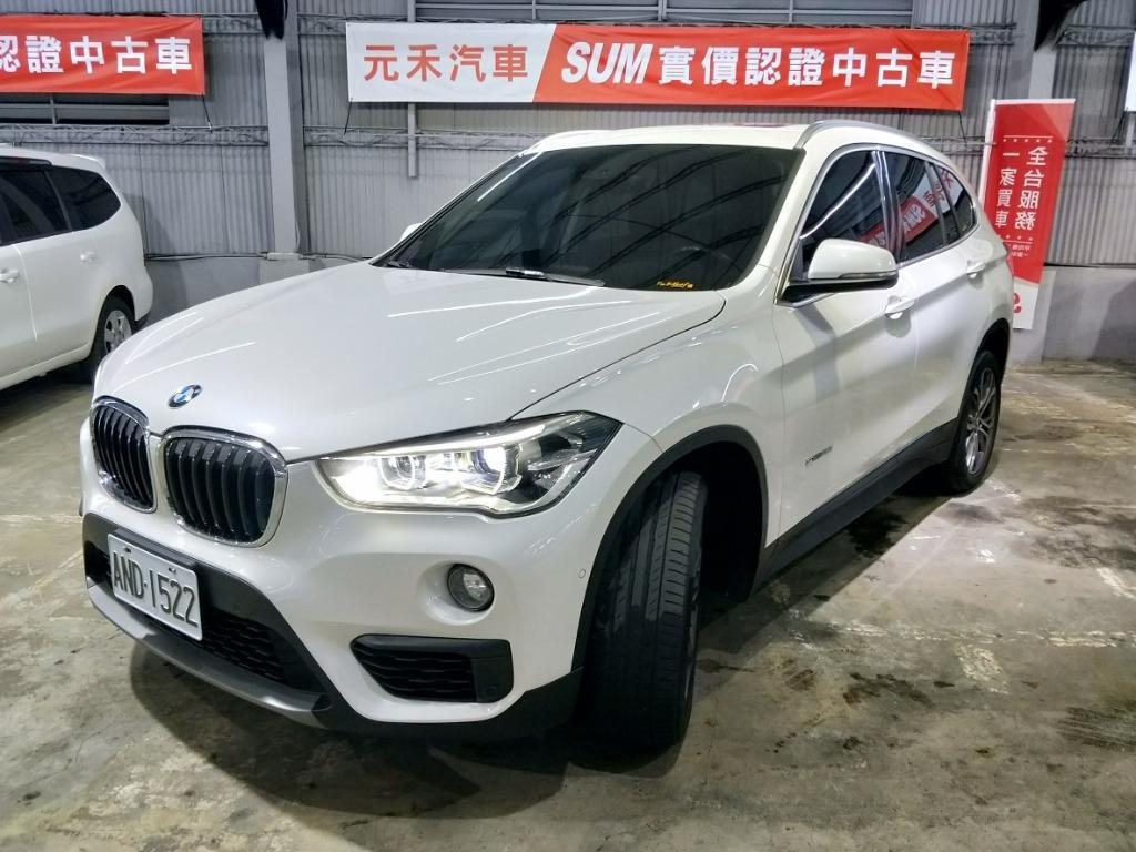 2016年 BMW X1 SDrive2.0i實車實價112.8萬