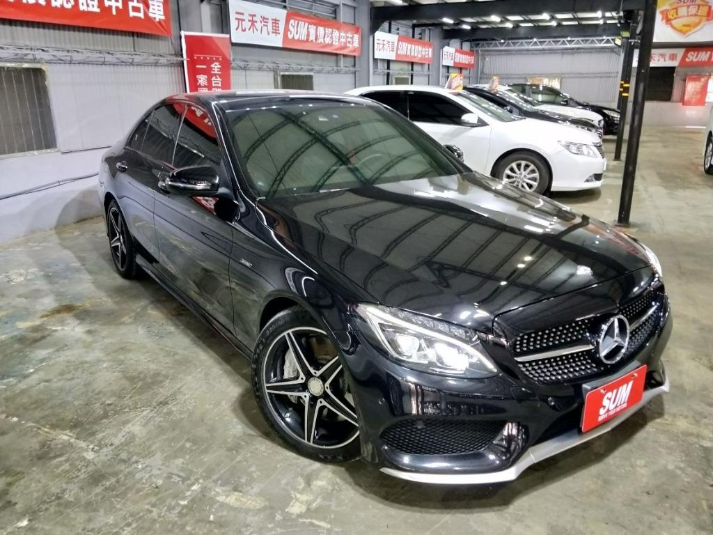 2016年BENZ.C450AMG 實車實價159.8萬