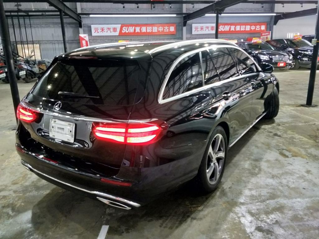 2017年BenzE200 Estate2.0實車實價176.8萬