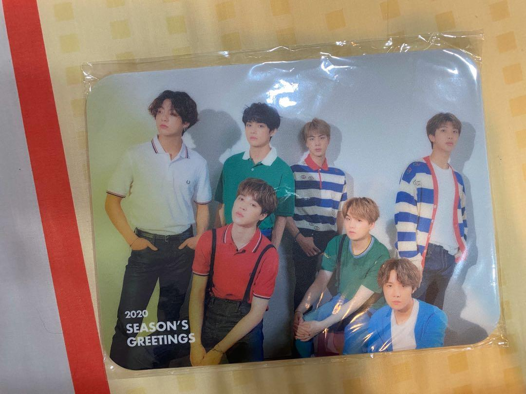 BTS 2020 Season Greetings Weply PO Benefit - Mouse Pad