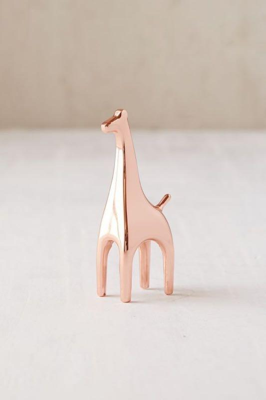 Critter Ring Holder - Rose Gold (Urban Outfitters)