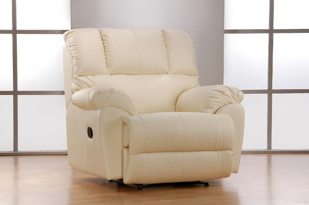 Picture of: Full Leather Recliner Arm Chair Offer Furniture Sofas On Carousell