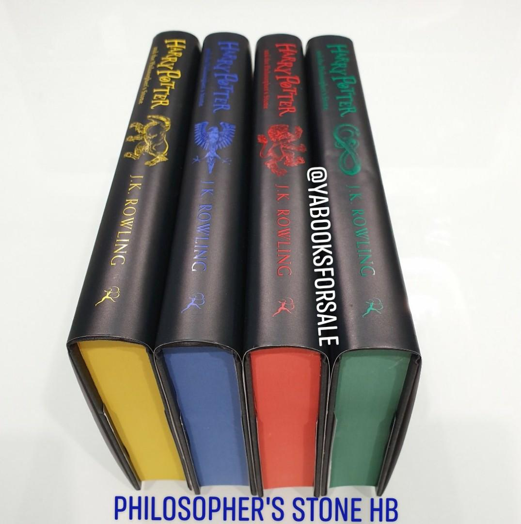 Harry Potter 20th anniversary ed Hogwarts House- Philosopher's Stone by JK Rowling