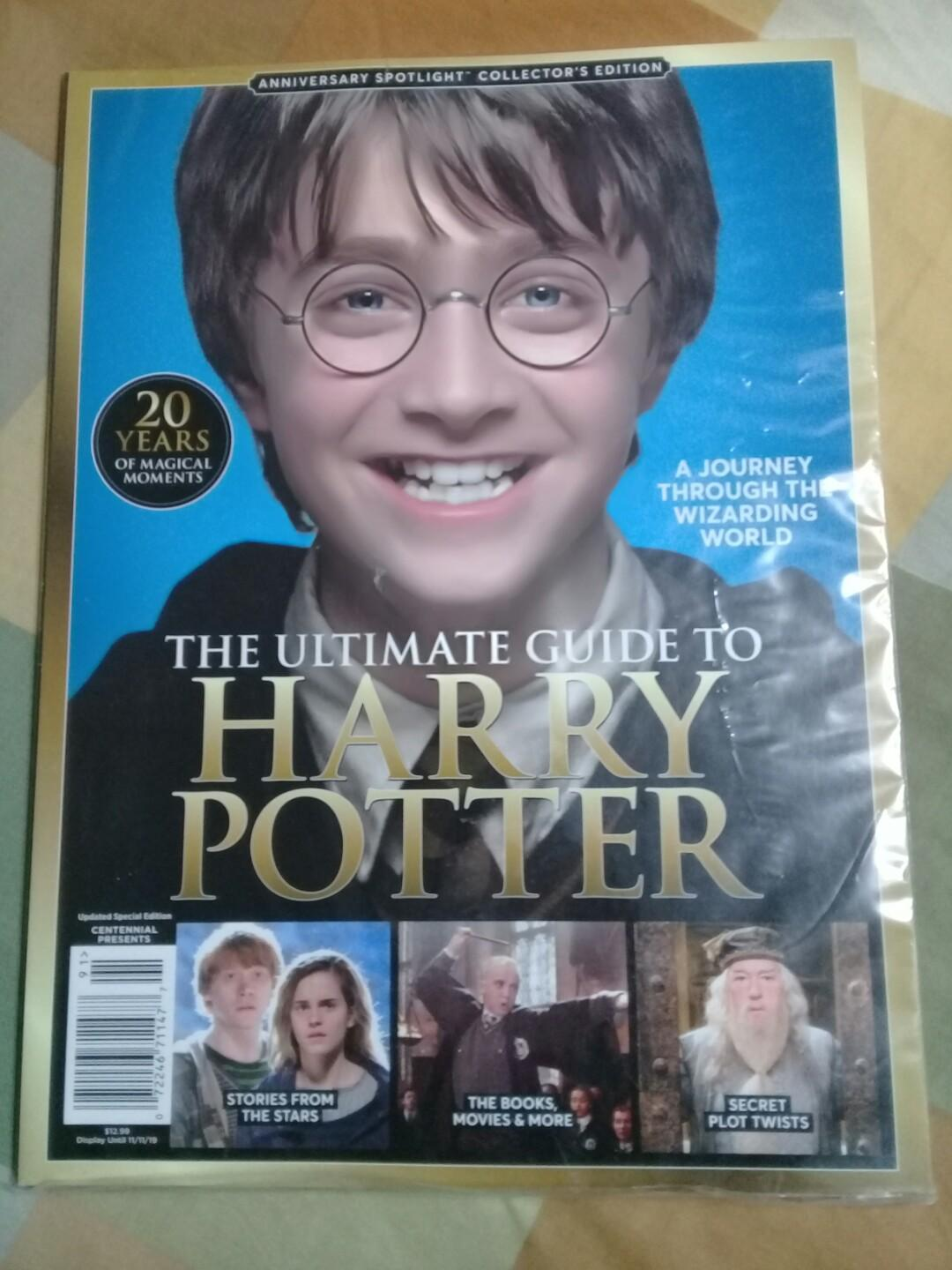 The Ultimate Guide to Harry Potter 20th Anniversary - Spotlight Magazine Collector's Edition
