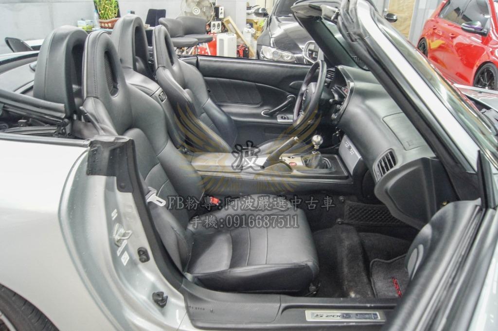 HONDA S2000 熱血跑車 改鋁圈 客製化改裝 遮風擋雨開帥帥