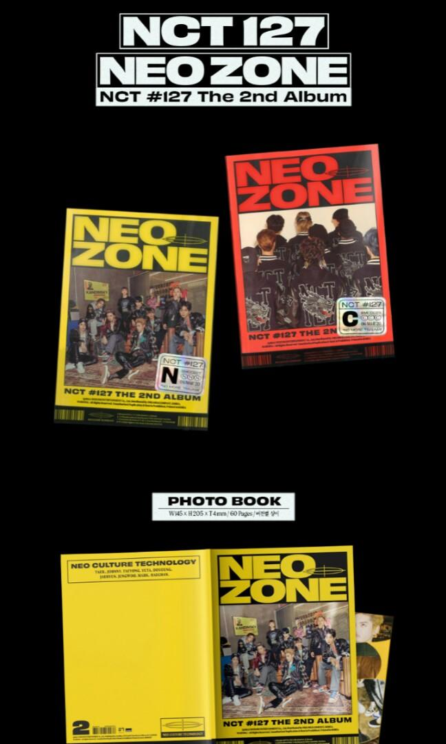 NCT 127 2ND REGULAR ALBUM NEO ZONE PRE ORDER NCT nct