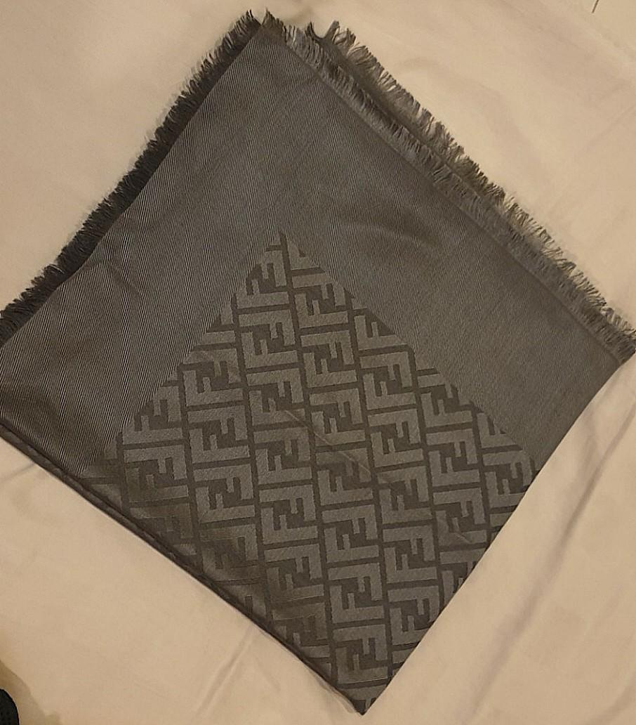 New 100% Authentic Fendi Large Scarf / Shawl (REDUCED FROM RM1,400 TO RM800, BOUGHT AT RM2,390)