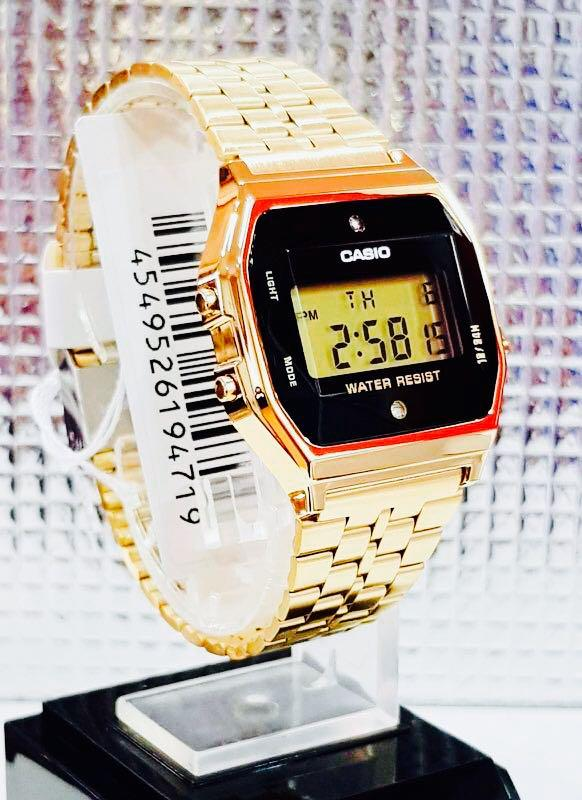 NEW🌟TOUGH CASIO UNISEX DIVER SPORTS WATCH  : 100% ORIGINAL AUTHENTIC BABY-G-SHOCK ( GSHOCK ) Company : A159WGED-1