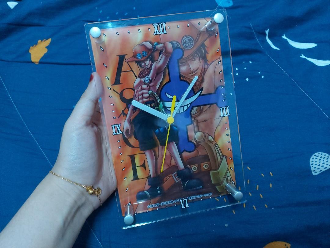 One Piece : Ace D. Portgas Desk Clock [ OFFICIAL ]
