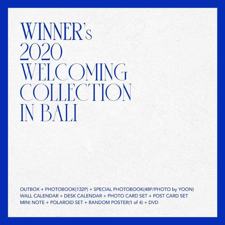 🇲🇾[PREORDER GO] #WINNER's 2020 WELCOMING COLLECTION IN BALI