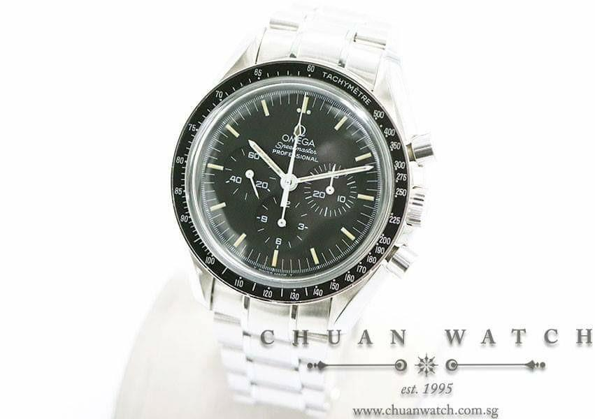 Pre-Owned Omega Speedmaster Moonwatch Professional Chronograph Hesalite Calibre 861 'Transition' 42mm 3570.50 - Discontinued